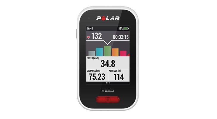 Polar V650 fietsnavigatie