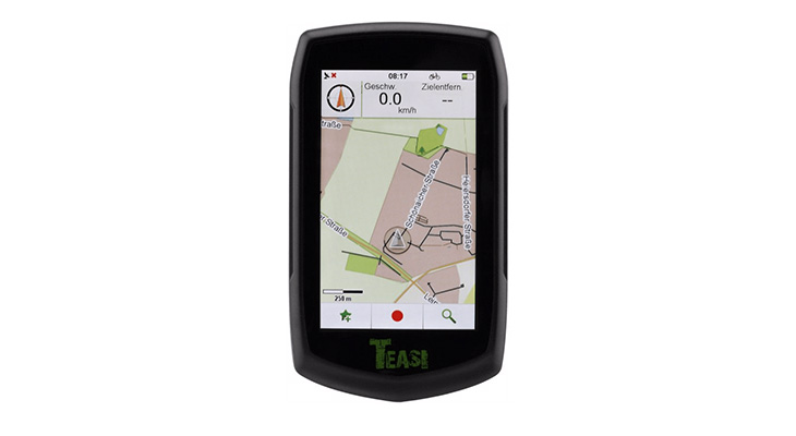 Teasi One 3 fietsnavigatie