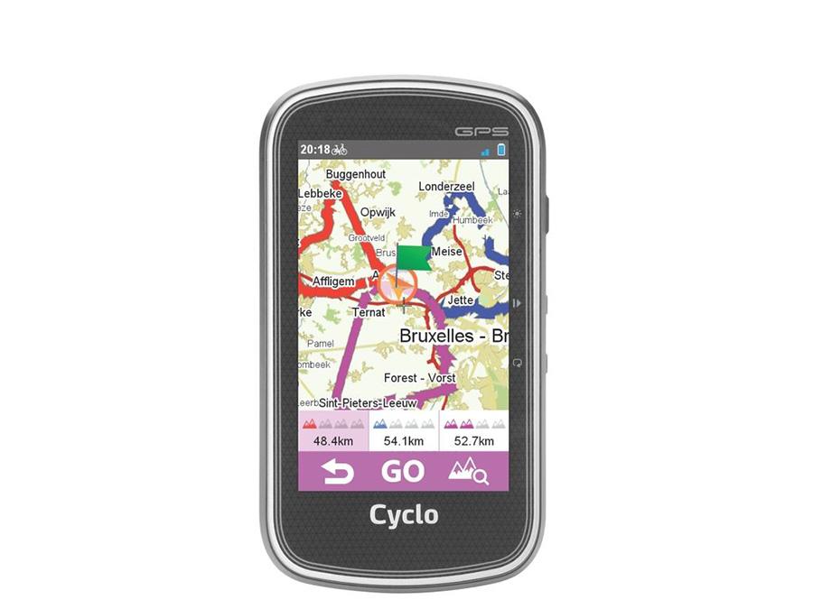 Mio Cyclo 605 route plannen