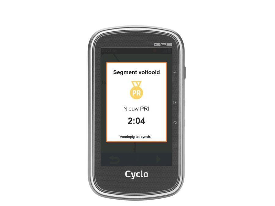 Mio Cyclo 605 Segmenten