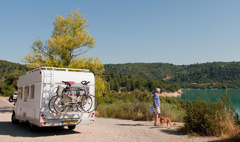 fietsen meenemen op de camper