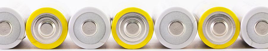 batterijen of accu
