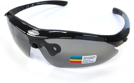 Gepolariseerde fietsbril