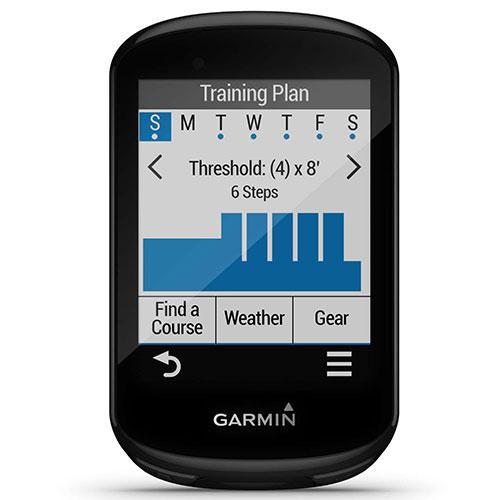 Garmin Edge 830 training