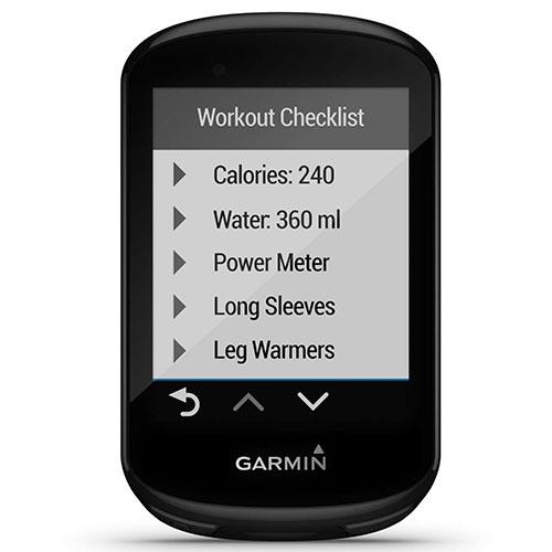 Garmin Edge 830 Workout