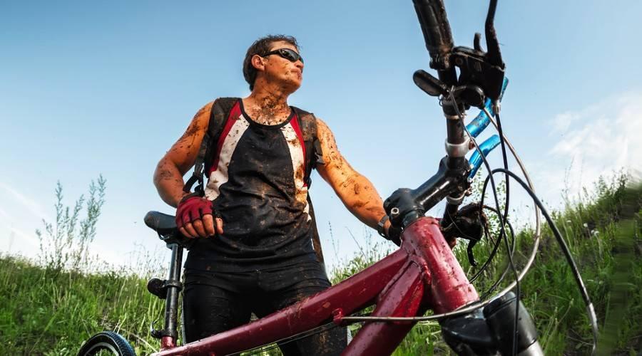 Mountainbike-uitrusting