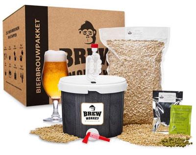 Brew monkey bierbrouwpakket zelf bier brouwen