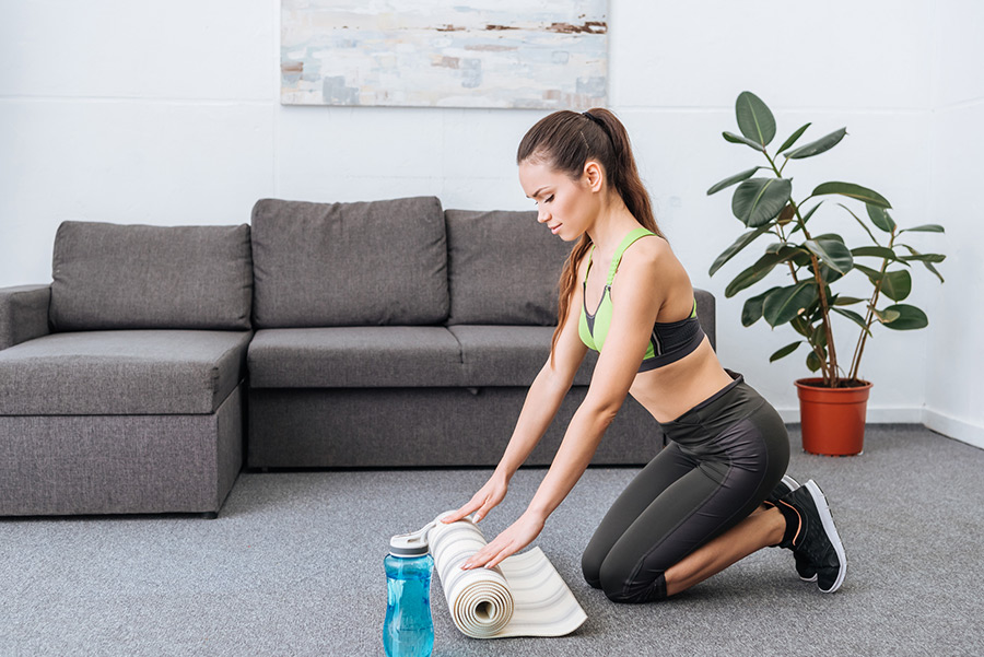 Waarom thuis trainen?