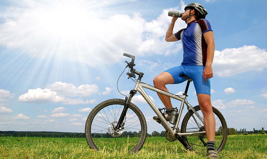 Eten, drinken en zonbescherming