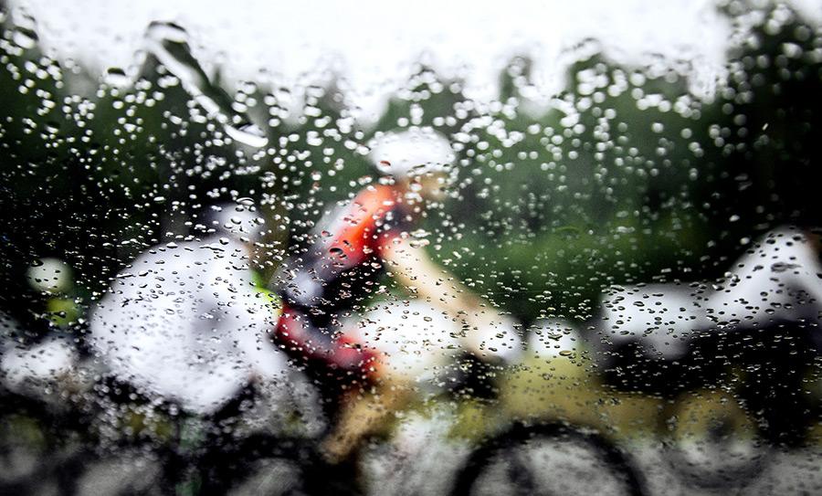 Regenjassen voor fietsers